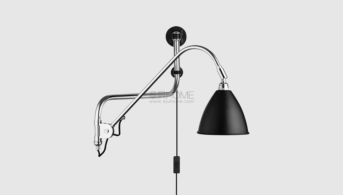 BL10 Wall Lamp - Dia.16 - Chrome Base壁灯